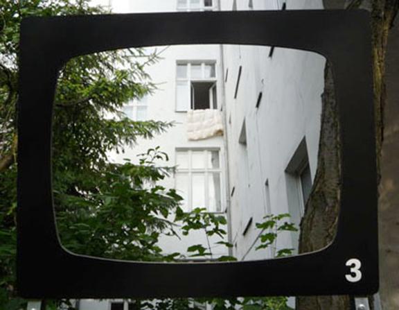 Fernsehgarten | Das Fenster zum Hof | © Marcus Müller