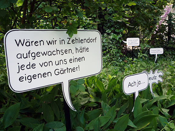 Ortsgespräche | eigener Gärtner | © Marcus Müller