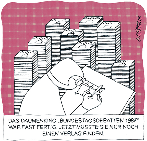 Cartoon | Daumenkino | © Katharina Greve