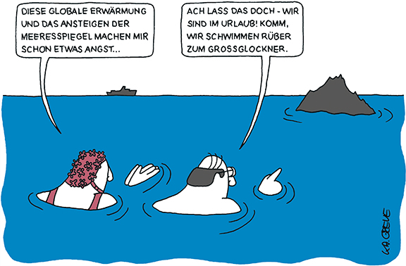 Cartoon | Klimawandel | © Katharina Greve