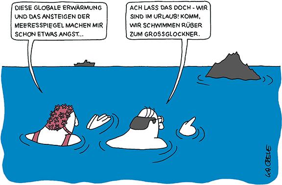 Cartoon | Klimawandel | © Katharina Greve