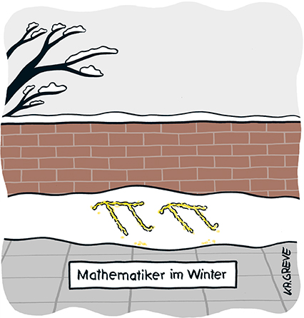 Cartoon | Pi | © Katharina Greve