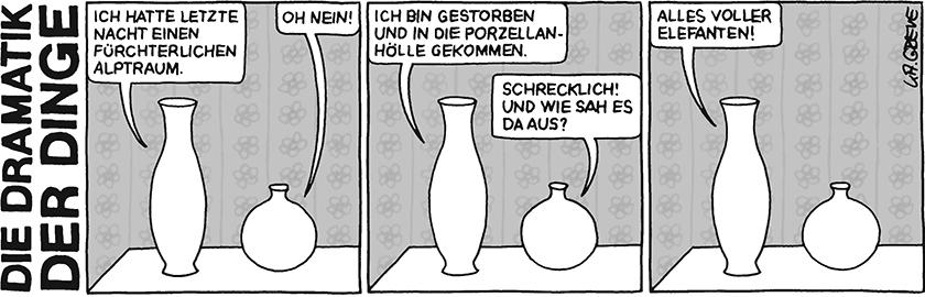 Die Dramatik der Dinge | Vasen | © Katharina Greve