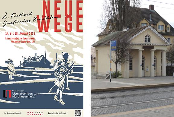Lesung | Kassel | © Literaturbüro Nordhessen / Katharina Greve