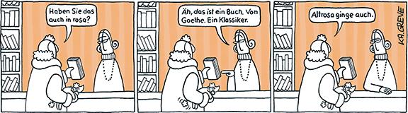 Comic-Strip | Buchladen | © Katharina Greve