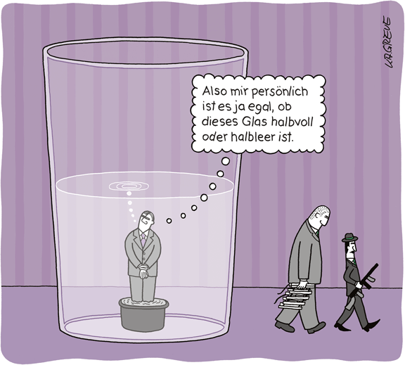 Cartoon | Glas | © Katharina Greve