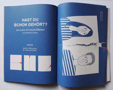 Comic | Treffen junge Musik-Szene | © Katharina Greve