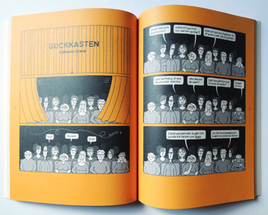 Comic | Theatertreffen der Jugend | © Katharina Greve