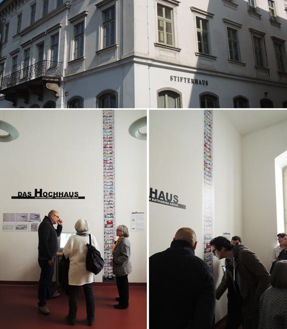 DAS HOCHHAUS | Ausstellung Linz | © Katharina Greve