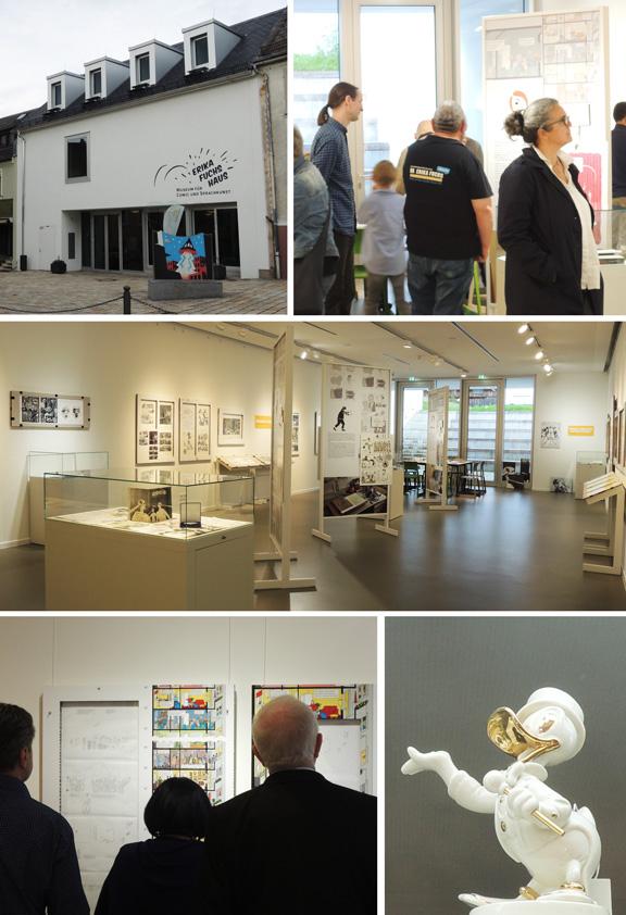 DAS HOCHHAUS | Ausstellung Entenhausen | © Katharina Greve