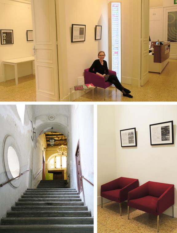 DAS HOCHHAUS | Ausstellung Neapel Goethe-Institut | © Marcus Müller