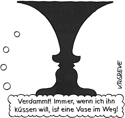 Cartoon | Vase | © Katharina Greve