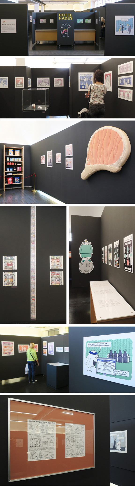 Ausstellung | Kassel | Mein Mann ist auch Atheist | © Katharina Greve / Marcus Müller