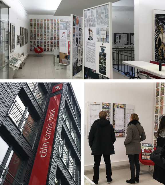 DAS HOCHHAUS | Ausstellung Cöln Comic Haus | © Katharina Greve