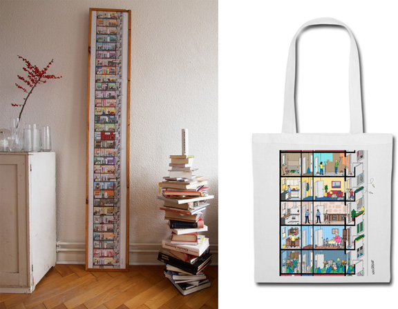 DAS HOCHHAUS | Kunstdruck + Tasche | © Round not Square + Katharina Greve