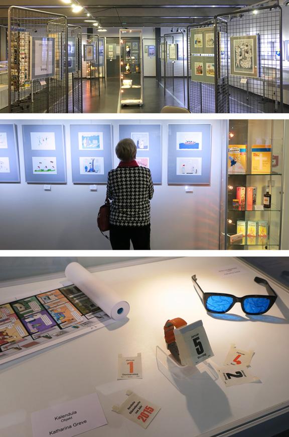 Ausstellung | Cartoonmuseum Brandenburg | Frauensache | © Katharina Greve