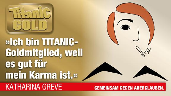 Titanic Gold Statement | © Katharina Greve