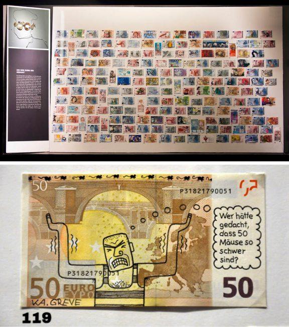 Ausstellung | Unibibliothek Leipzig | Geld | © steschum & Katharina Greve