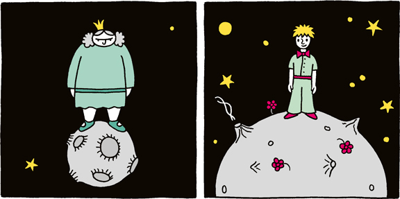 Comic-Strip | Prinzessin Petronia | © Katharina Greve