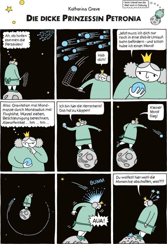 Comic-Strip | Prinzessin Petronia | Folge 4 | © Katharina Greve