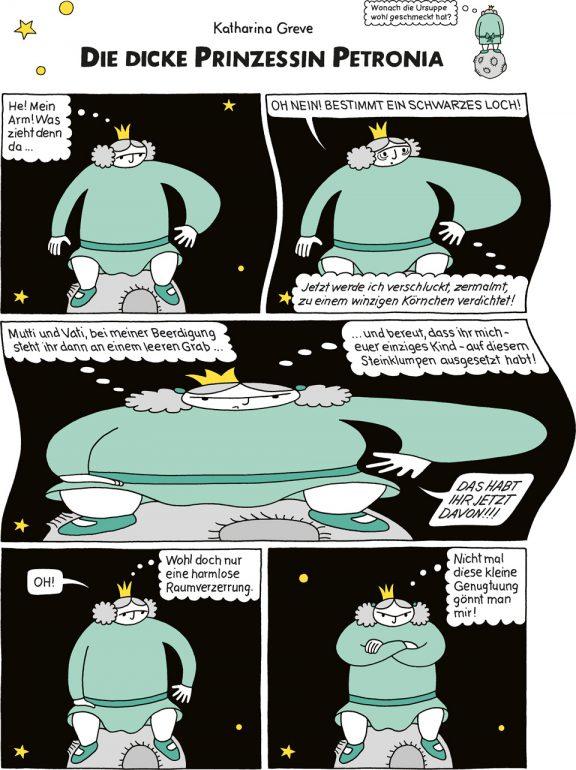 Comic-Strip | Prinzessin Petronia | Folge 8 | © Katharina Greve