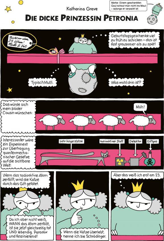 Comic-Strip | Prinzessin Petronia | Folge 9 | © Katharina Greve