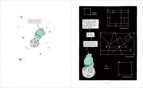 Die dicke Prinzessin Petronia | Seiten 14 + 15 | © Katharina Greve