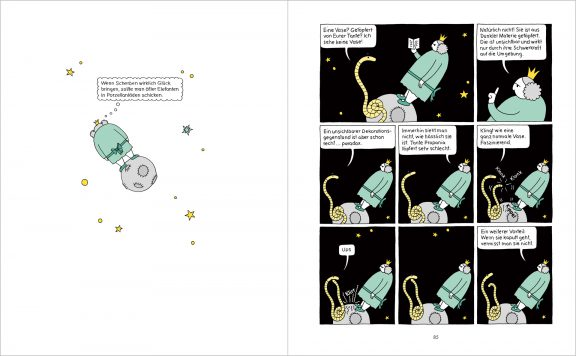Die dicke Prinzessin Petronia | Seiten 84 + 85 | © Katharina Greve