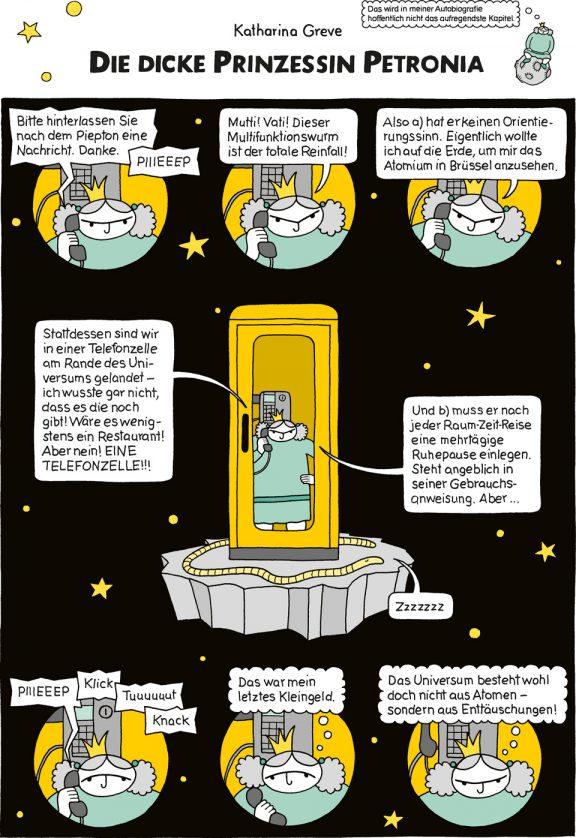 Comic-Strip | Prinzessin Petronia | Folge 12 | © Katharina Greve