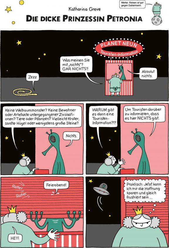 Comic-Strip | Prinzessin Petronia | Folge 13 | © Katharina Greve