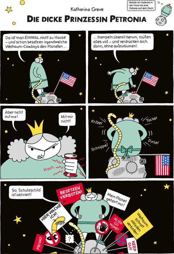 Comic-Strip | Prinzessin Petronia | Folge 15 | © Katharina Greve