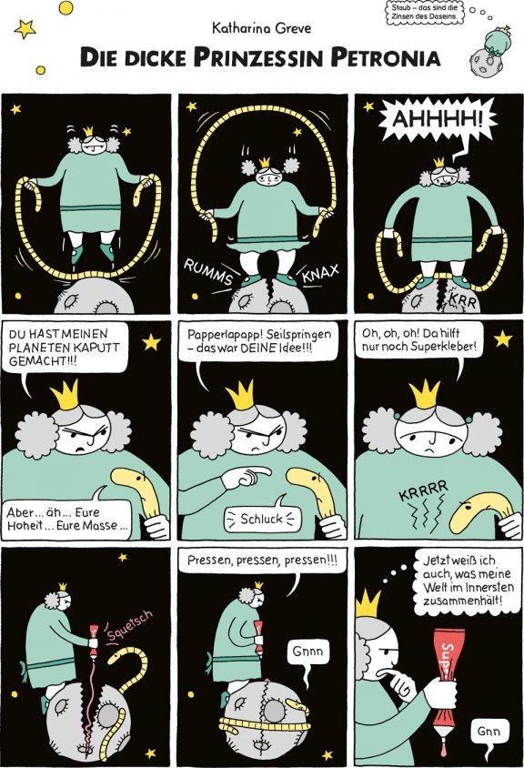 Comic-Strip | Prinzessin Petronia | Folge 16 | © Katharina Greve