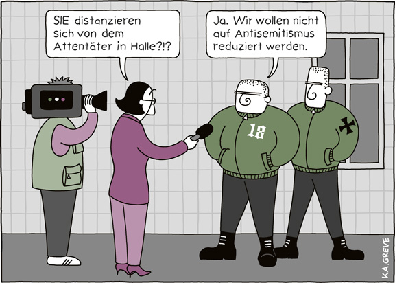 Cartoon | Halle0910 | © Katharina Greve