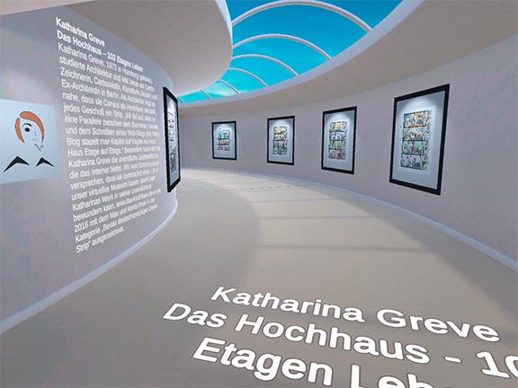 Das Hochhaus | virtuelles Museum | © Katharina Greve
