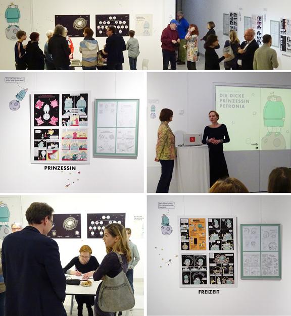 Ausstellung | Prinzessin Petronia | Erika-Fuchs-Haus | © Erika-Fuchs-Haus & Katharina Greve