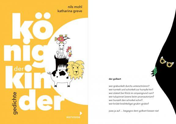 Buch | König der Kinder | © Nils Mohl & Katharina Greve