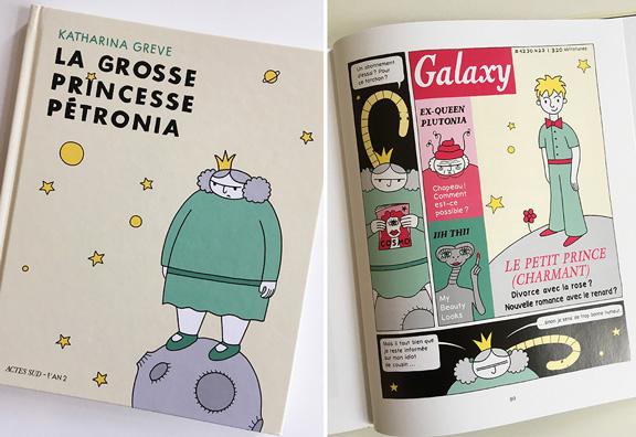 Die dicke Prinzessin Petronia | Französisch | @ Katharina Greve