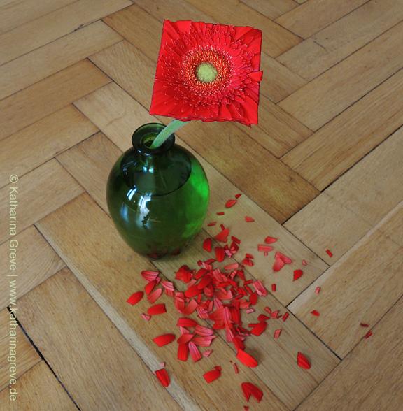 Objekt | Quadratische Blume | © Katharina Greve
