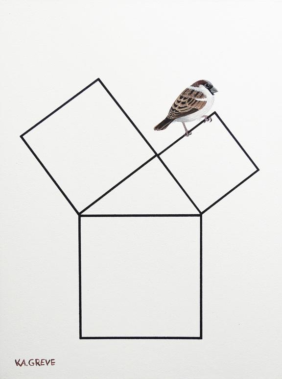 Bild | Der Spatz des Pythagoras | @ Katharina Greve