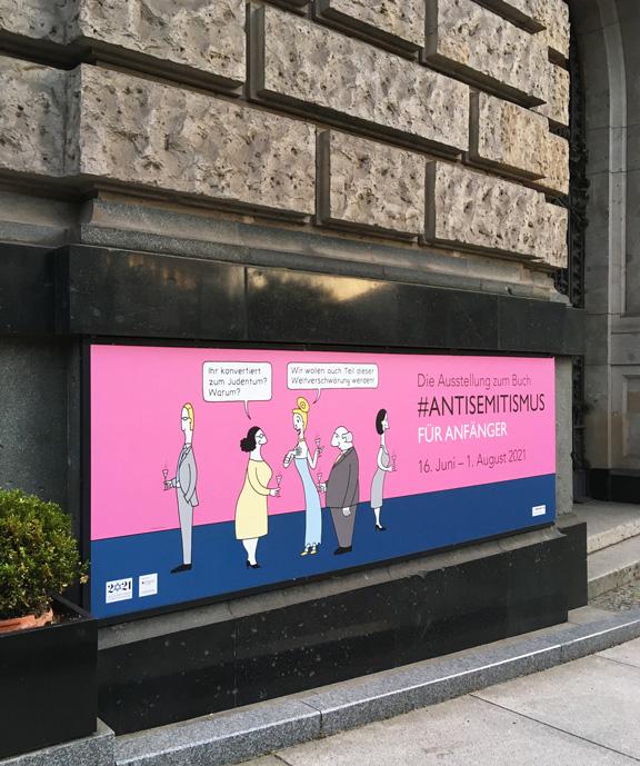 Ausstellung | Antisemitismus für Anfänger | © Katharina Greve